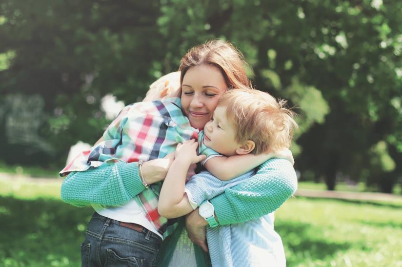 Mamma che ama i figli