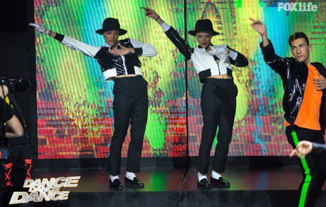 Le Donatella, seconda esibizione di coppia nella finale di Dance Dance Dance 2