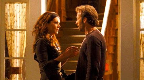 Lauren Graham e Scott Patterson in Gilmore Girls