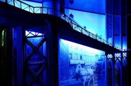 Uno scatto da Cinecittà in occasione dell'iniziativa Cinecittà Segreta