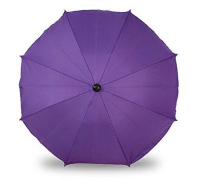 Ombrello parasole e da pioggia per carrozzina e passeggino