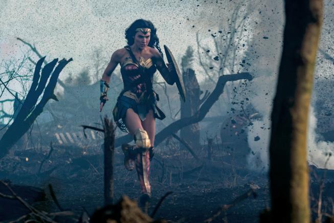 Una sequenza spettacolare di Wonder Woman