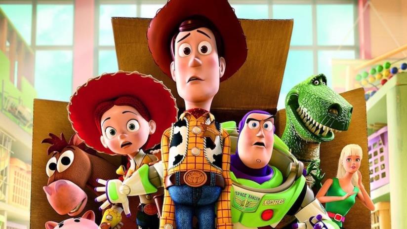 Una scena dalla saga di Toy Story
