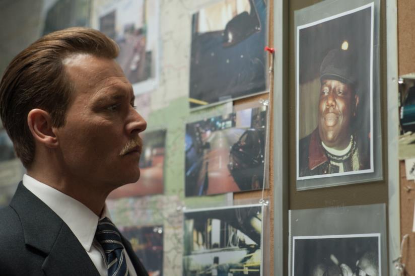 Johnny Depp è il detective Poole in City of Lies e indaga sulla morte di Notorious B.I.G.