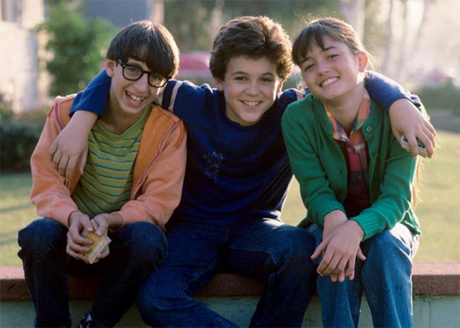I tre protagonisti di Blue Jeans