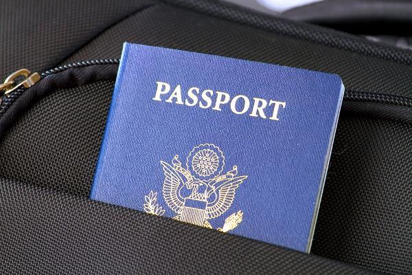 Passaporto in valigia
