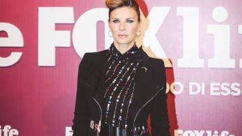 Martina Colombari sul red carpet della FoxLife Night Out