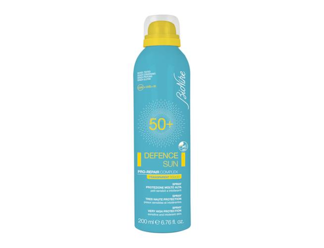 Defence Sun Spray Transparent Touch SPF50+