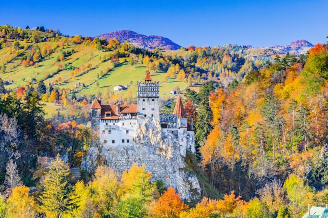 Il Castello di Bran, attrazione della Romania