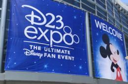 L'ingresso del D23 Expo