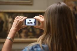 Fotografare il quadro con lo smartphone