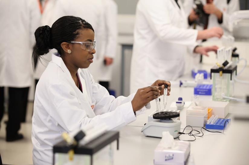 Una scienziata