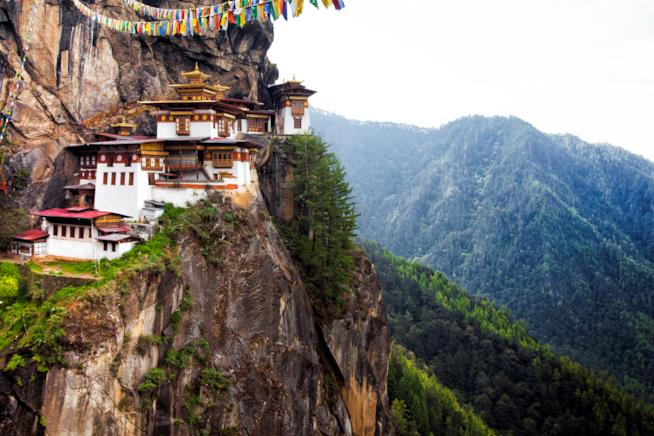 montagne Tibet, meta rilassante