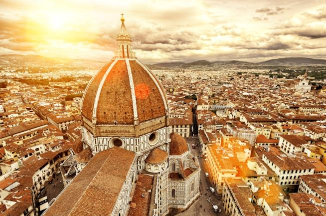 Cupola della Basilica di Santa Maria Novella a Firenza