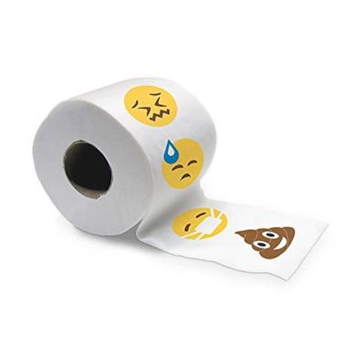 Carta igienica con Emoji