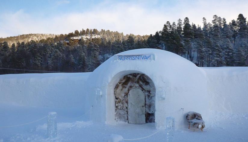 Hotel di ghiaccio norvegese