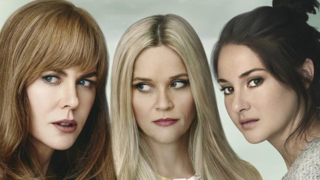 Nicole Kidman, Reese Witherspoon e Shailene Woodley