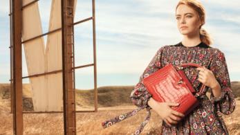 Emma Stone e la sua Capucines per Louis Vuitton