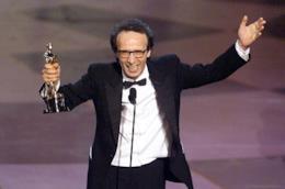 Roberto Benigni e quella magica notte degli Oscar di 20 anni fa