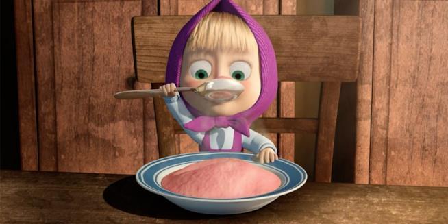 Masha mangia
