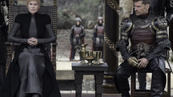 Cersei piccata con Jaime al fianco