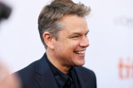 L'attore Matt Damon