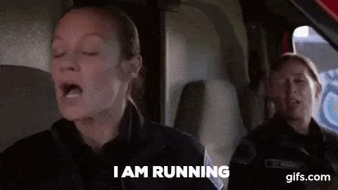 Maya e Andy nell'episodio 5 di Station 19