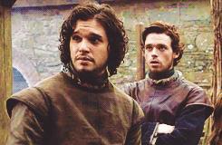 Jon Snow e Robb Stark