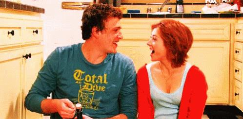 Marshall e Lily nella sitcom How I Met Your Mother,