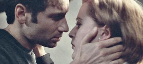 Gillian Anderson e David Duchovny in X-Files
