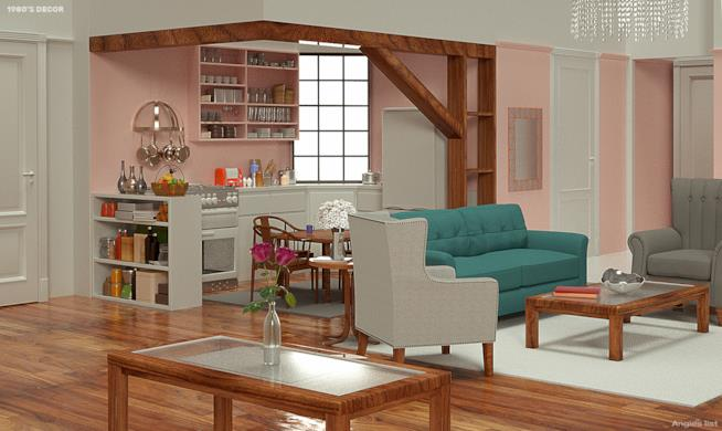 Appartamento di Monica anni Ottanta