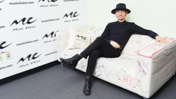 Chester Bennington ad un evento musicale