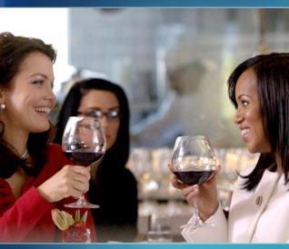 La passione per il vino di Olivia