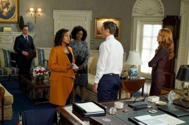 Un'immagine della sesta stagione di Scandal