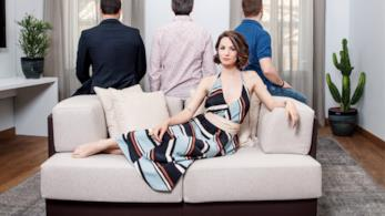 E' di Zara l'abito indossato da Andrea Delogu nel primo episodio di Parla Con Lei