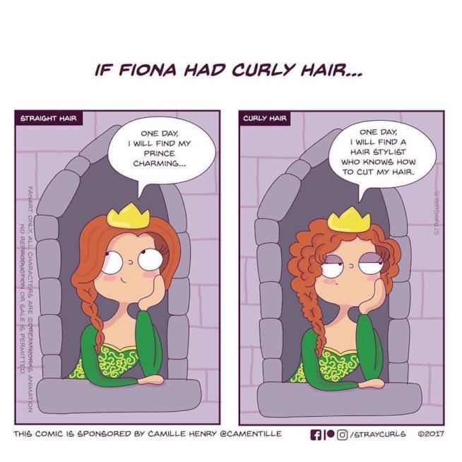 Fiona nella vignetta di Angela Mary Vaz