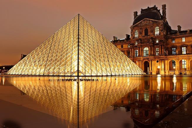 Il Museo del Louvre a Parigi