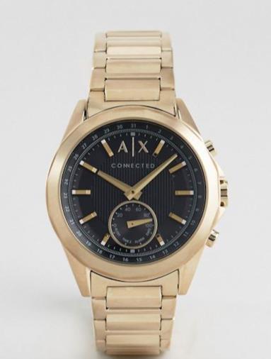 Smartwatch ibrido oro a bracciale