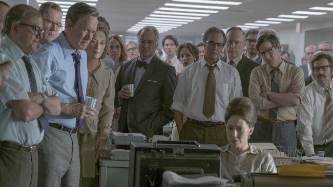 Una scena del film The Post