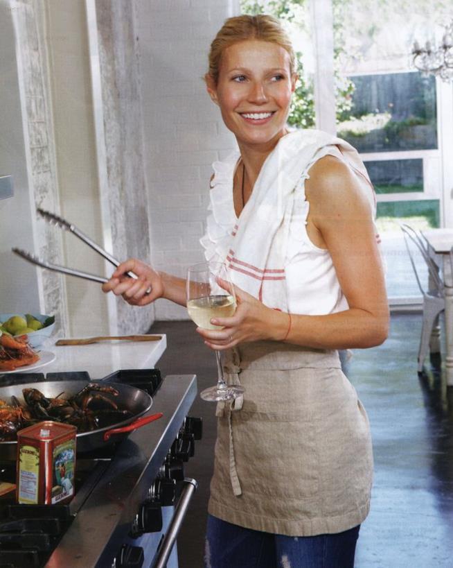 Gwyneth Paltrow ai fornelli