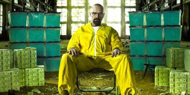 Un'immagine di Walter White protagonista di Breaking Bad