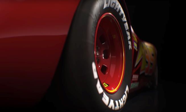 Ruote Lightyear di Saetta McQueen dal film Cars