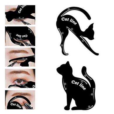 Stencil occhi per Cateye