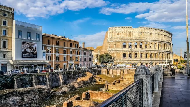 Roma giornata nuvolosa