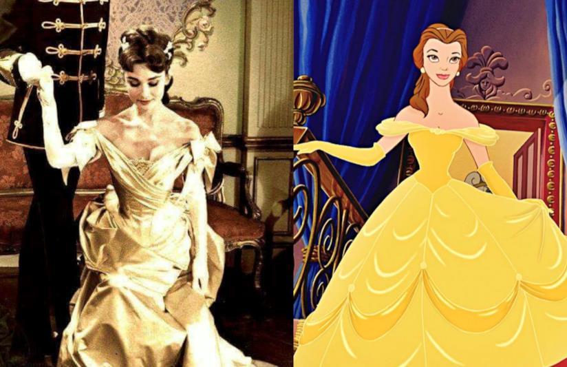 La Hepburn come Belle