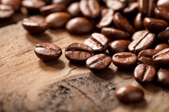 ll caffè in un profumo