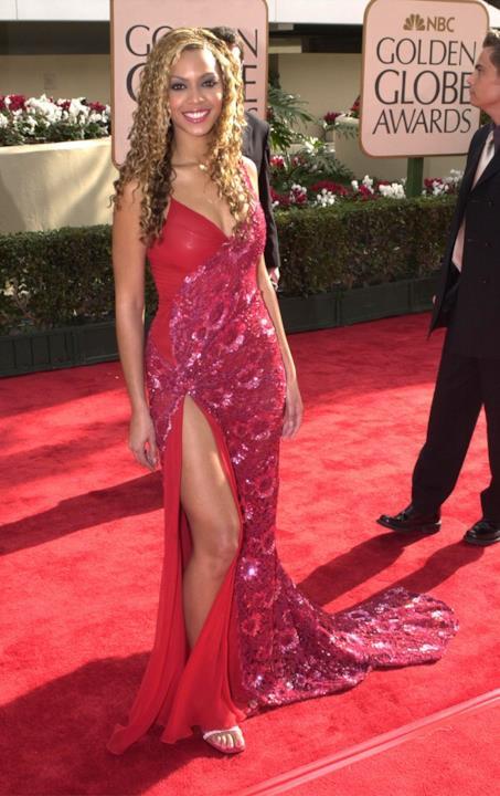 Uno degli abiti da sera sfoggiati sul red carpet da Beyoncé