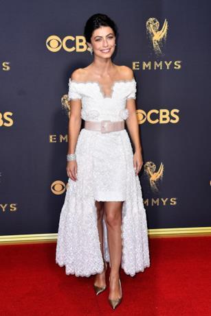 Alessandra Mastronardi sul red carpet Emmy