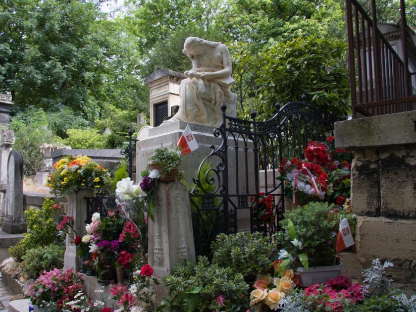 Père Lachaise: la tomba di Chopin nel cimitero più grande di Parigi