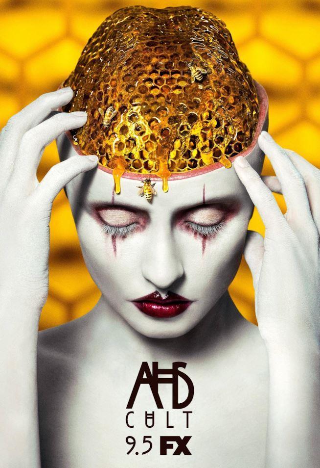 Il poster della settima stagione di American Horror Story